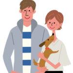 家族ライフサイクルのイラスト