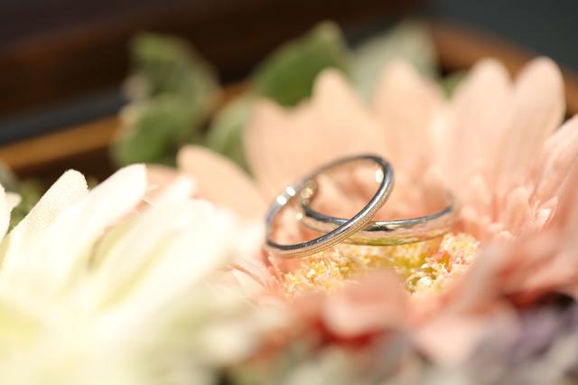 指輪の写真